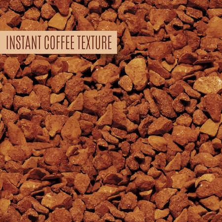 freeze dried: gr�nulos de caf� helada marr�n secas de fondo sin fisuras