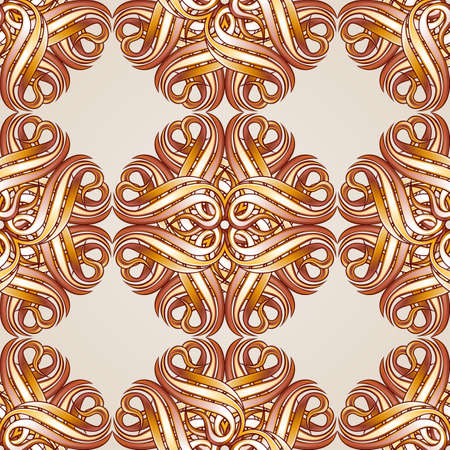 Seamless  floral pattern in the form of abstract flowers