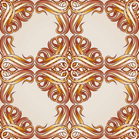 Seamless abstract floral pattern in the form of flowers
