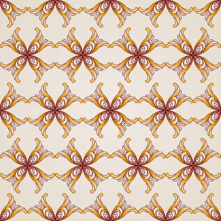 Seamless abstract floral pattern in the form of beauty flowers