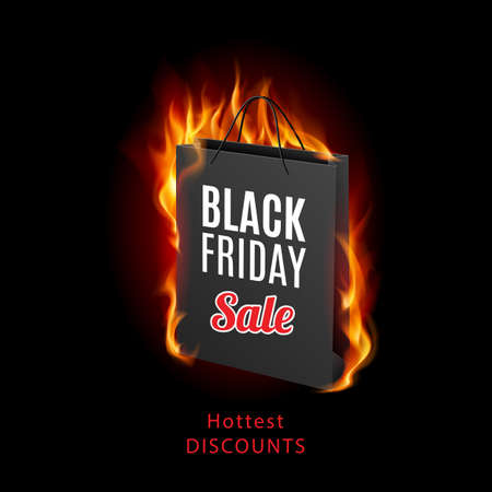 increasing: Black Friday discounts, increasing consumer growth. Fire packet