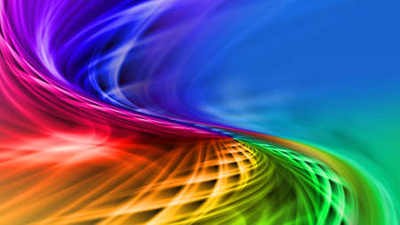Beatifull multicolored pattern background iridescent color streams Stock Photo