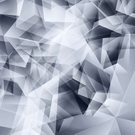 iridescent: Iridescent gray background seamless pattern of polygonal Illustration