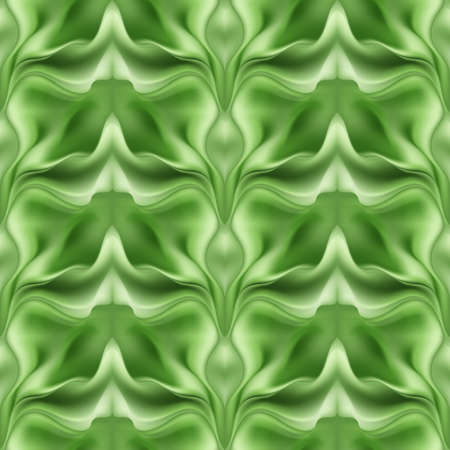 varied: Varied abstract green seamless pattern blurred background