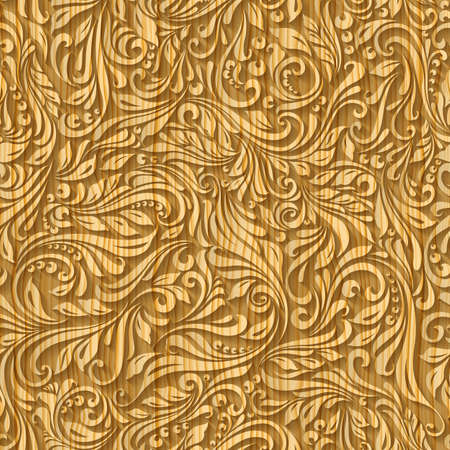 tracery: Carved wooden tracery.  A seamless pattern background