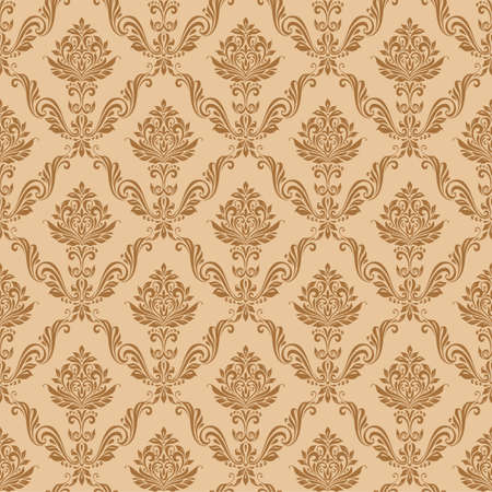 seamless floral pattern: Pattern background seamless vintage floral luxury style