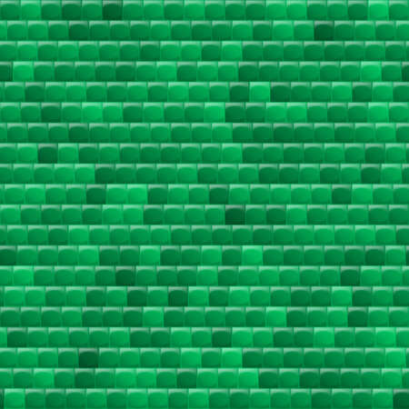 heterogeneous: Heterogeneous corrugated surface. Seamless pattern green background