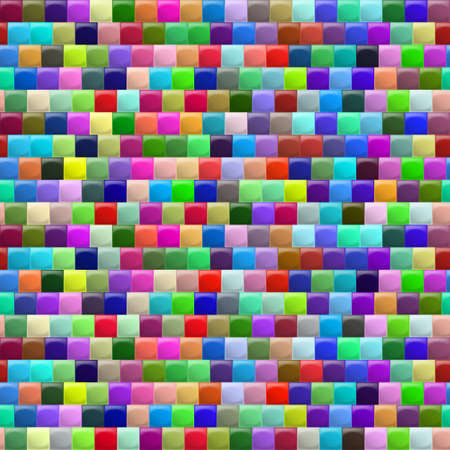 tiles texture: Heterogeneous corrugated surface. Seamless pattern colorfull background