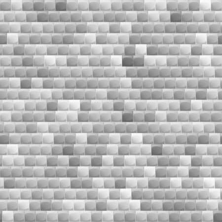 heterogeneous: Heterogeneous corrugated surface. Seamless pattern shadows gray background Illustration