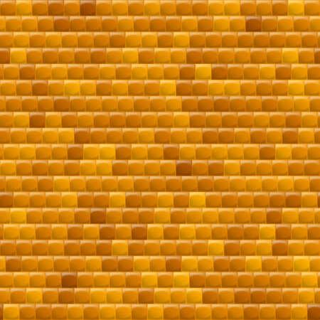 heterogeneous: Heterogeneous Corrugated Surface. Seamless Pattern Yellow background