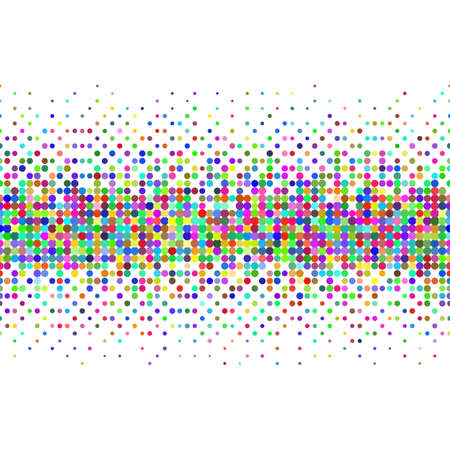 spatters: Gradient Seamless Background with Color Dots for Creative Idea