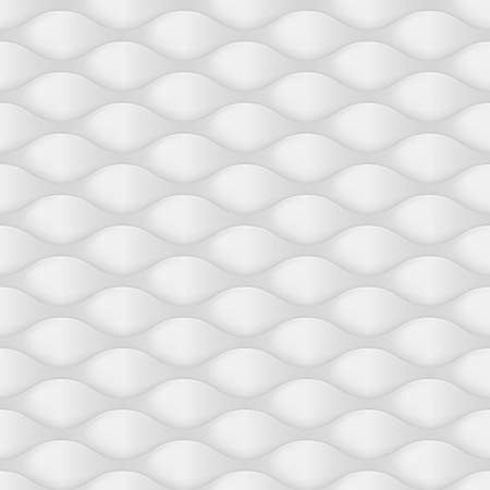 convexity: Embossed Texture Wave. Seamless Pattern in Dark Gray Color