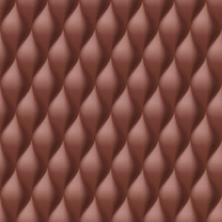 convex: Vertical Convex Wavy Seamless Pattern. Brown Color Background Illustration