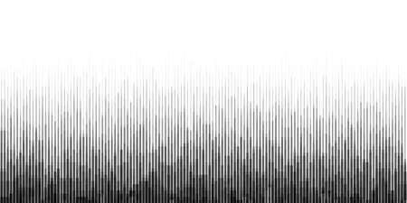 ruido: Fondo horizontal del gradiente sin ruido con partículas