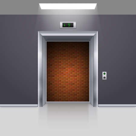deadlock: Realistic Elevator with Open Door with Deadlock