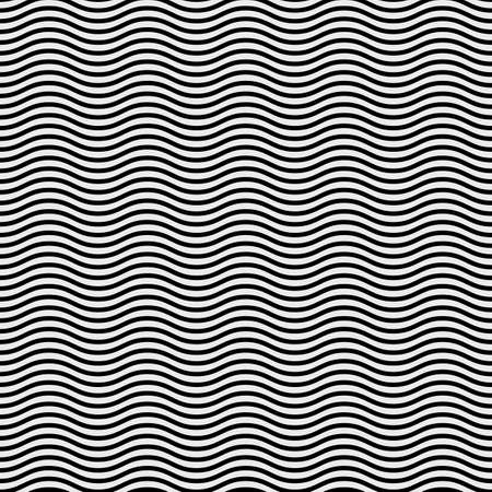 wavy background: Abstract Background Black and White Horizonal Wavy Lines