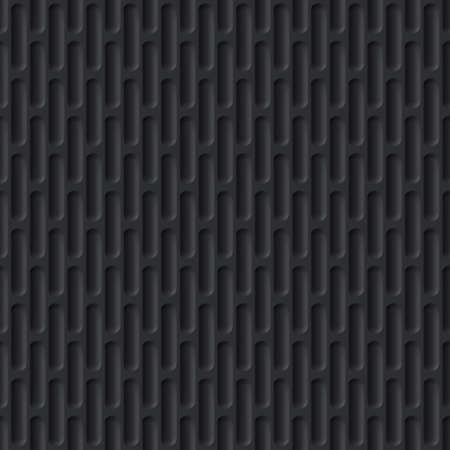 ironworks: Corrugated Seamless Background for Web Design in Black Color