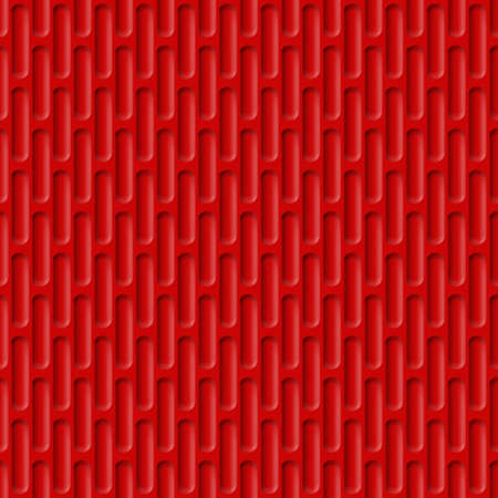 tough: Corrugated Seamless Background for Web Design in Red Color Illustration