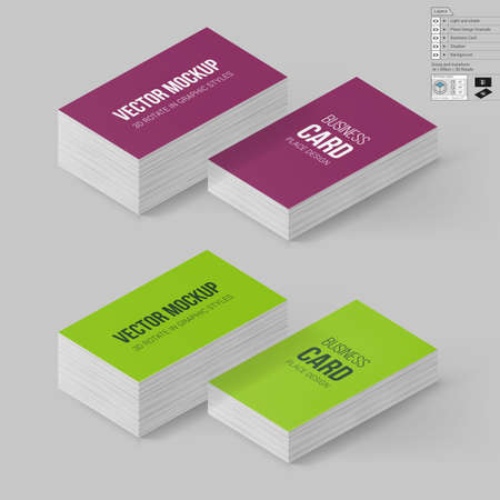 Business cards template in magenta and lime colors corporate business cards template in magenta and lime colors corporate identity branding mock up with flashek Images