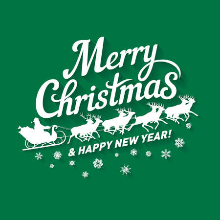 Merry Christmas Writing Images.Hand Drawn Lettering Of Merry Christmas Badge With Happy New