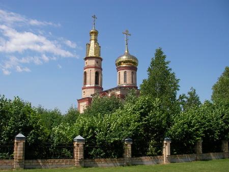 liturgy: Church an architectural construction the temple where the Christian meeting makes a liturgy.