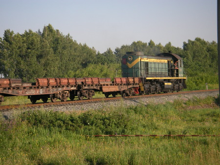 traction: Locomotive - a main type of the traction mechanism on not the elektrofitsirovanny railroad