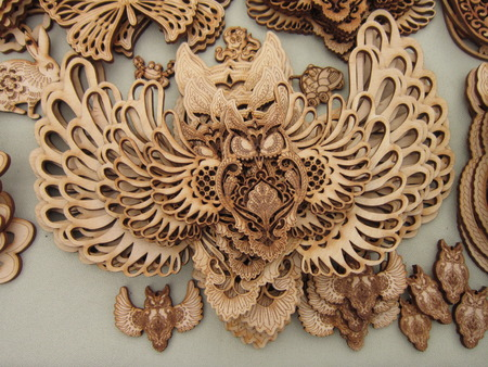 articles: Woodcarving and various hand-made articles from a tree were original occupation of different people of the world