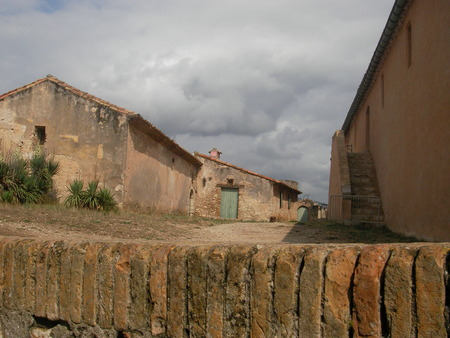 condemned: The building of the former prison on Saint Margaritas island in the Mediterranean Sea