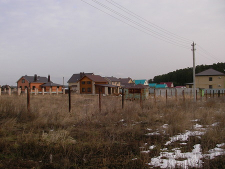 conducted: Construction of private houses on a place of the former waste ground is conducted