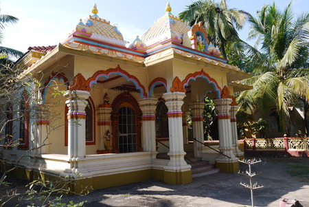 specifically: The Hindu temple, or a worship place for followers of Hinduism. It is usually used specifically for spiritual and religious activity.