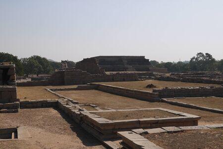 royals: ruins of the royal palace of the Vidzhayanagarsky era in Hampi