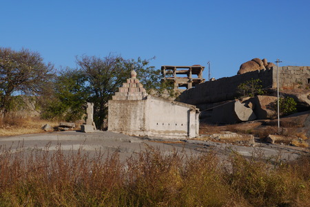 empire: Vidzhayanagars ruins - the former capital of the Vidzhayanagarsky empire