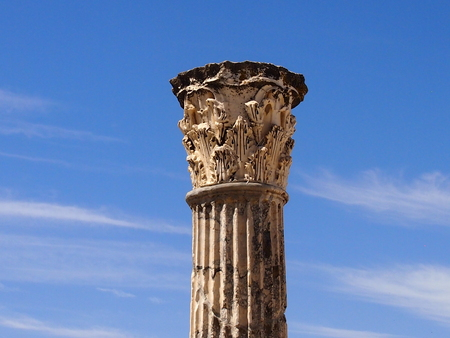 place of interest: Ancient Carthage is ruins of the Roman structures which rose over Kartagoy during a Punic or Phoenician era.