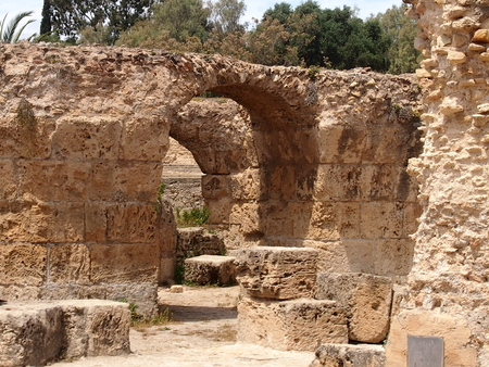 place of interest: Ruins Anthony Pliyas term in Carthage in the territory of modern Tunisia