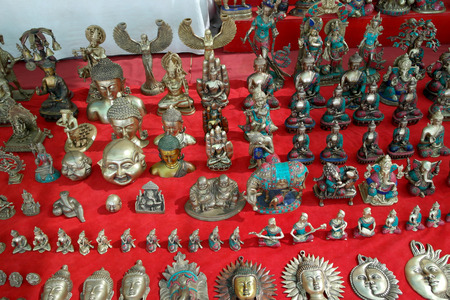 Sculptures and figurines of Buddhist and Tibetan gods