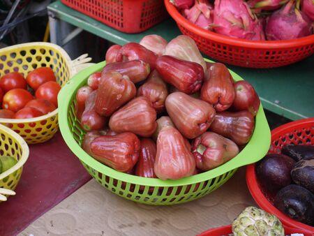 Chompu is a pink apple or malabar plum