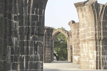Bara Kaman is an unfinished tomb, tomb, mausoleum