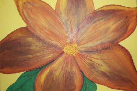 Painting of a flower