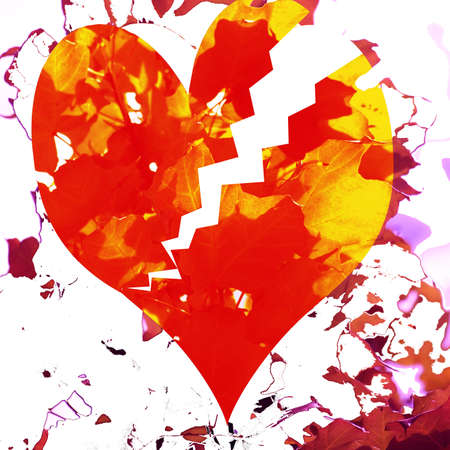 Broken Heart Stock fotó