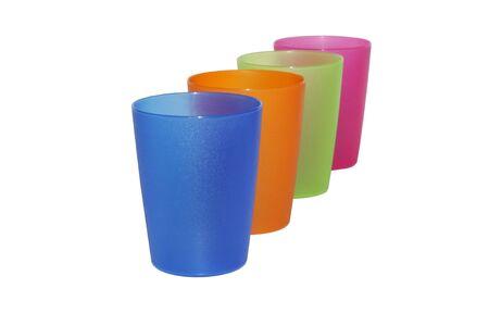 shallow dof: Color glass ,shallow dof Stock Photo