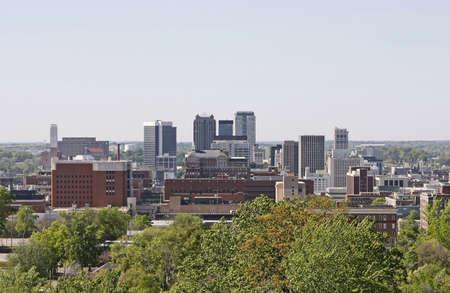 The city of Birmingham, Alabama.