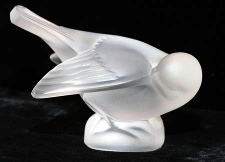 結晶鳥 写真素材