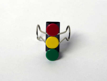 Abstract traffic light