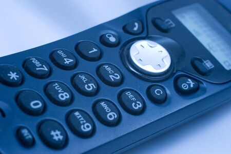 Close-up of phone keypad