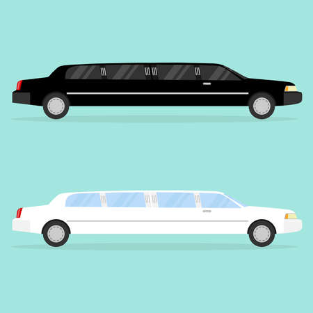 Limousine icon. Flat design, vector illustration, vector.