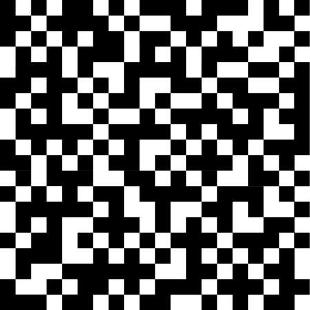 Abstract black and white squares. Flat design, vector illustration, vector.