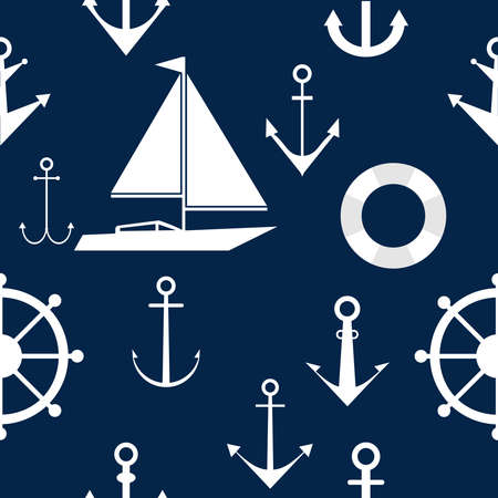 ship anchor: Wallpapers of anchors and steering wheels, marine themes.