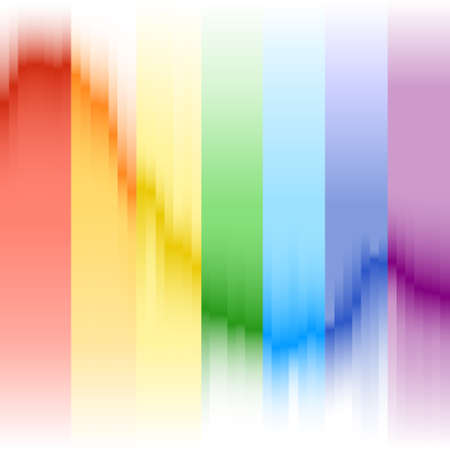 Abstract, background image of the rainbow. Abstract rainbow banner. Vector illustration. Vector.