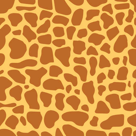 Giraffe skin. Background image of giraffe skin. Vector illustration. Vector. Ilustração