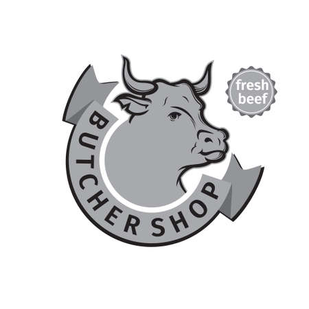 label of butcher shop